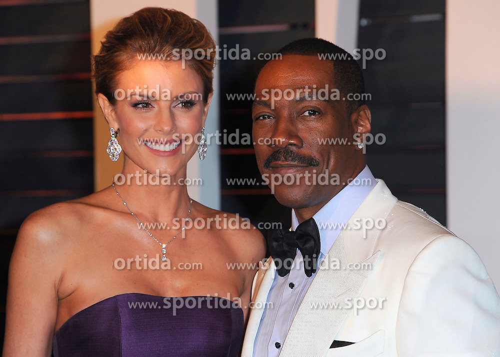 22.02.2015, Wallis Anneberg Center for the Performing Arts, Beverly Hills, USA, Vanity Fair Oscar Party 2015, Roter Teppich, im Bild Eddie Murphy // during the red Carpet of 2015 Vanity Fair Oscar Party at the Wallis Anneberg Center for the Performing Arts in Beverly Hills, United States on 2015/02/22. EXPA Pictures &copy; 2015, PhotoCredit: EXPA/ Newspix/ PGSK<br /> <br /> *****ATTENTION - for AUT, SLO, CRO, SRB, BIH, MAZ, TUR, SUI, SWE only*****