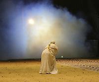 Lawrence of Arabia, British Military Tournament Dress Rehearsal, Earls Court, London UK, 06 December 2013, Photo by Richard Goldschmidt