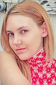 2012 Red & White Dress - Jessie James Hollywood