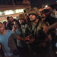 two injured soldier were taken controlled by APK protesters