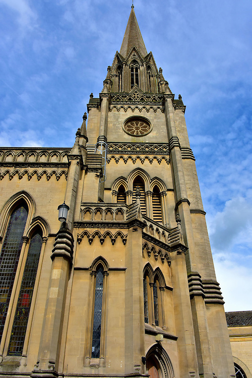 St Michael&rsquo;s Church in Bath, England<br />