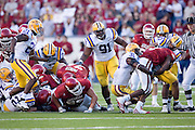 Arkansas vs LSU in Little Rock, Arkansas..LSU wins 31 to 26University of Arkansas Razorback 2006 Football team....©Wesley Hitt.All Rights Reserved.501-258-0920.
