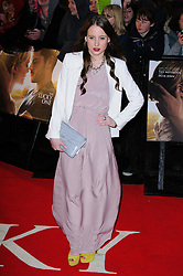 Rosie Fortesque at The Lucky One premiere in  London, 23rd April 2012.  Photo by: Chris Joseph / i-Images