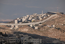 Middle East, Israel, Jerusalem, Israeli West Bank barrier wall