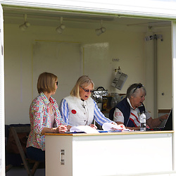Burghley Young Event Horse Scoring Team, with Sue Dent