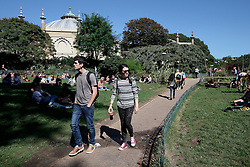 UK ENGLAND BRIGHTON 8SEP16 - Pavilion Gardens in  Brighton town centre.<br /> <br /> jre/Photo by Jiri Rezac<br /> <br /> © Jiri Rezac 2016