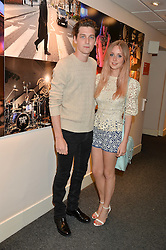 GEORGE CRAIG, and DIANA VICKERS at an exclusive showing of the Ralph Lauren Collection Spring 2014 Runway Collection held at the legendary Abbey Road Studios, Abbey Road, London NW8 on 21st May 2014.