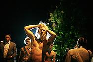 Cavemen on Franklin Street in Chapel Hill, North Carolina.