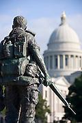 Arkansas State Capital Vietnam Veterans Memorial in Little Rock