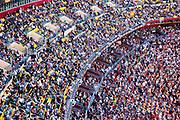 Washington Redskins Fans enjoying the game against the Philadelphia Eagles on December 10, 2006 at Fedex Field in Landover, Maryland ([Julia Robertson / via Ap Images])