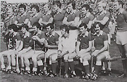 Cork-All-Ireland Hurling Champions 1978. Back Row: Fr Troy, J Barry Murphy, J Crowley, T Crowley, R Cummins, M O'Doherty, P Moylan, J Horgan, D Coughlan. Front Row: T Cashman, D McCurtain, S O'Leary, C McCarthy (capt), M Coleman, B Murphy, G McCarthy.
