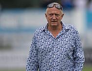 FC Roskildes ejer Carsten Salomonsson før kampen i NordicBet Ligaen mellem FC Roskilde og Vendsyssel FF den 18. august 2019 i Roskilde Idrætspark (Foto: Claus Birch).