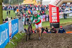 Eva Lechner (ITA), Women, Cyclo-cross World Cup Hoogerheide, The Netherlands, 25 January 2015, Photo by Thomas van Bracht / PelotonPhotos.com