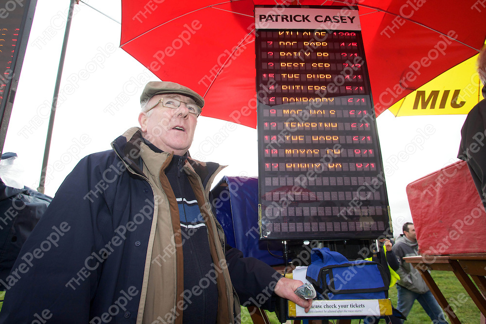 Pictured at Garranboy Point to Point near Killaloe on Sunday 20th february 2011 was Patrick Casey (Clarecastle).<br /> Pic Emma Jervis / Press 22