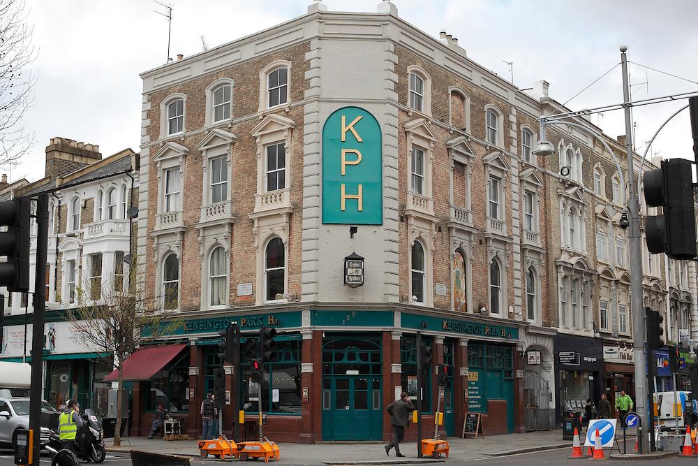 The KPH pub. Ladbroke Grove. London.<br /> <br /> Photo: Zute Lightfoot / lightfoot photo.com