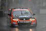 Nick Percat (SP Tools Holden) on the way to wining Race 3. 2016 Clipsal 500 Adelaide. V8 Supercars Championship Round 1. Adelaide Street Circuit, South Australia. Sunday 6 March 2016. Photo: Clay Cross / photosport.nz