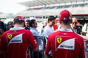 October 27-29, 2017: Mexican Grand Prix. Sebastian Vettel (GER), Scuderia Ferrari, SF70H , Kimi Raikkonen (FIN), Scuderia Ferrari, SF70H