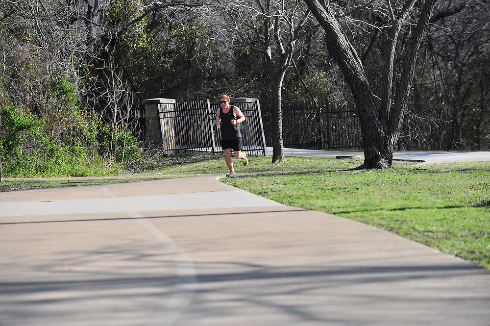 PLAYER at the Spring Creek Nature Area in Richardson on Friday, March 15, 2013. (Cooper Neill/The Dallas Morning News)