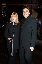 MIKE READ and EILEEN JOHNSTON at a fund raising dinner hosted by Marco Pierre White and Frankie Dettori's in aid of Conservative Party's General Election Campaign Fund held at Frankie's No.3 Yeoman's Row,æLondon SW3 on 17th January 2005.<br />