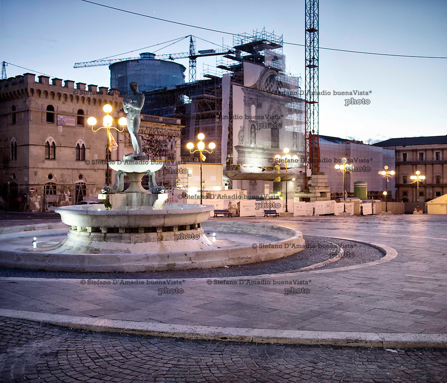 Piazza del duomo L'Aquila<br /> <br /> Piazza del duomo L'Aquila