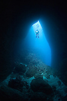 Diver in Reef Cavern II