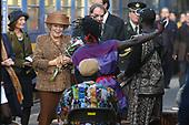 Koningin Beatrix bij Zilverrail