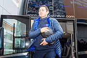 Chelsea FC Manager Frank Lampard arriving at the KCOM Stadium before the The FA Cup match between Hull City and Chelsea at the KCOM Stadium, Kingston upon Hull, England on 25 January 2020.