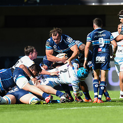 Bismarck du Plessis of Montpellier during the Top 14 match between Montpellier Rugby and Racing 92  on May 20, 2017 in Montpellier, France. (Photo by Alexandre Dimou/Icon Sport )