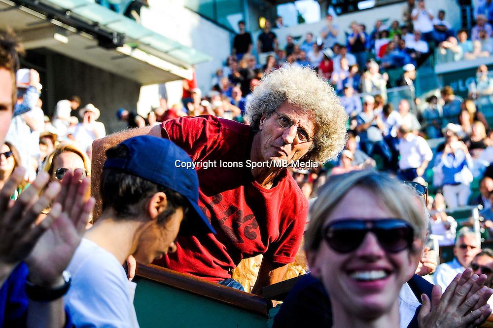 Elie CHOURAQUI - 02.06.2015 - Jour 10 - Roland Garros 2015<br /> Photo : Nolwenn Le Gouic / Icon Sport