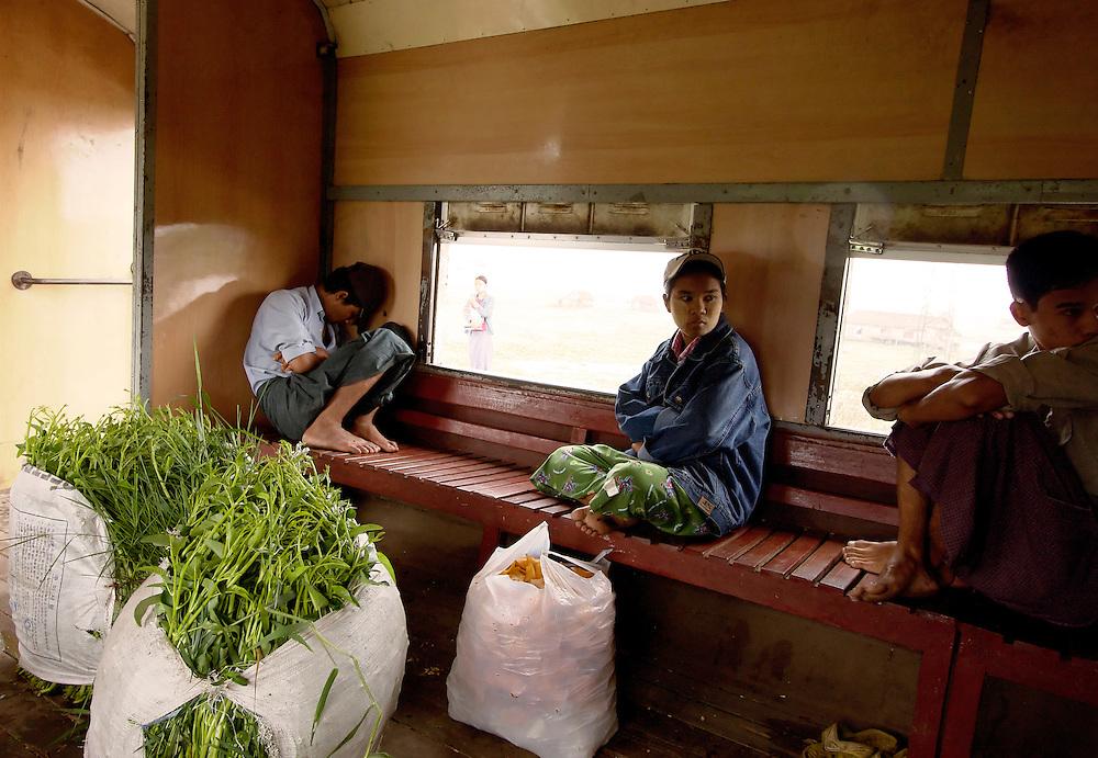 Circular Train, Yangon, Myanmar.