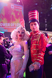 08.06.2019, Rathaus, Wien, AUT, Life Ball, im Bild v. l. Amanda Lepore, Julian Stoeckl // during the Life Ball at the Rathaus in Wien, Austria on 2019/06/08. EXPA Pictures © 2019, PhotoCredit: EXPA/ Florian Schroetter