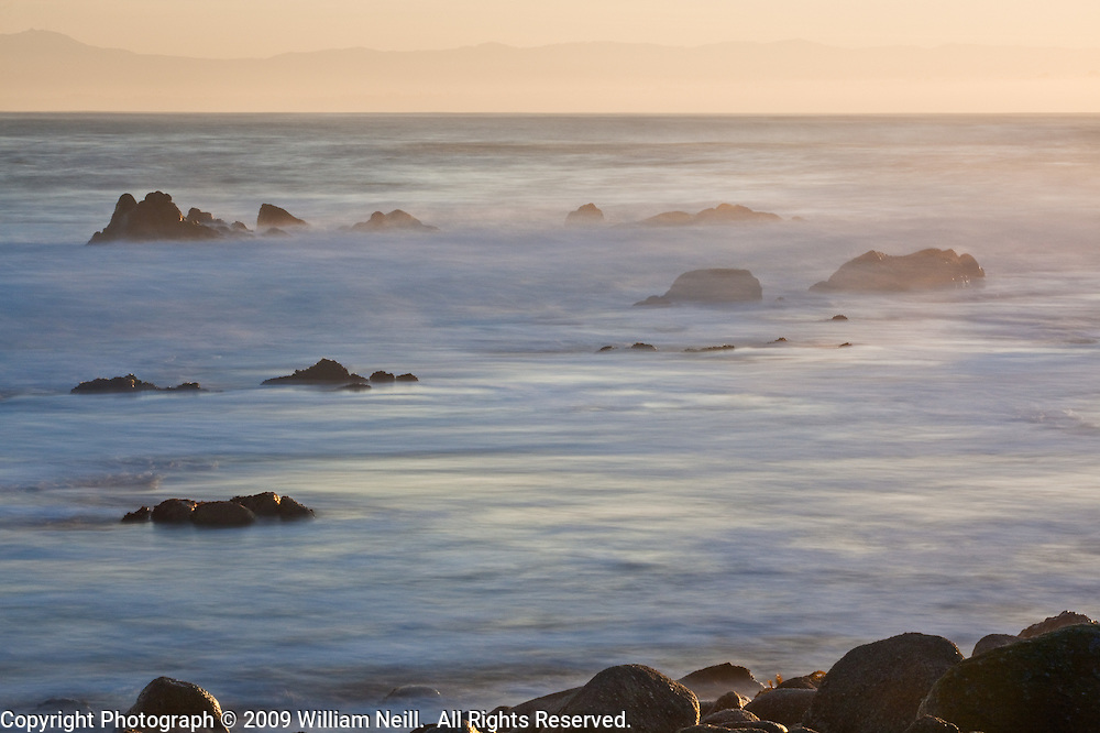 Monterey Bay sunrise, Pt. Pinos, California  2009