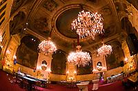 Roulette and blackjack tables, Florentina Room, Casino Baden Baden, Baden Baden, Baden-Württemberg, Germany