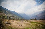 Zangkhar Village Bhutan Asia