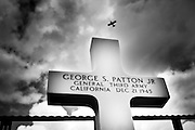 Gen. George S. Patton's U.S. Third Army is buried at The Luxembourg American Cemetery and Memorial together with 5,076 of military dead during the Second World War. Photo: ©Erik Luntang