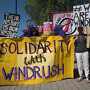 Children of The Windrush Generation join the March for Windrush - Scrap May's Racist Act, London, UK