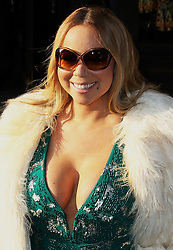 Mariah Carey leaving her hotel in London, London UK, 17 March 2016, Photo by Brett D. Cove