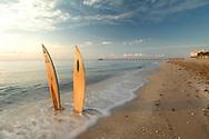 Surfboards on the Beach Florida