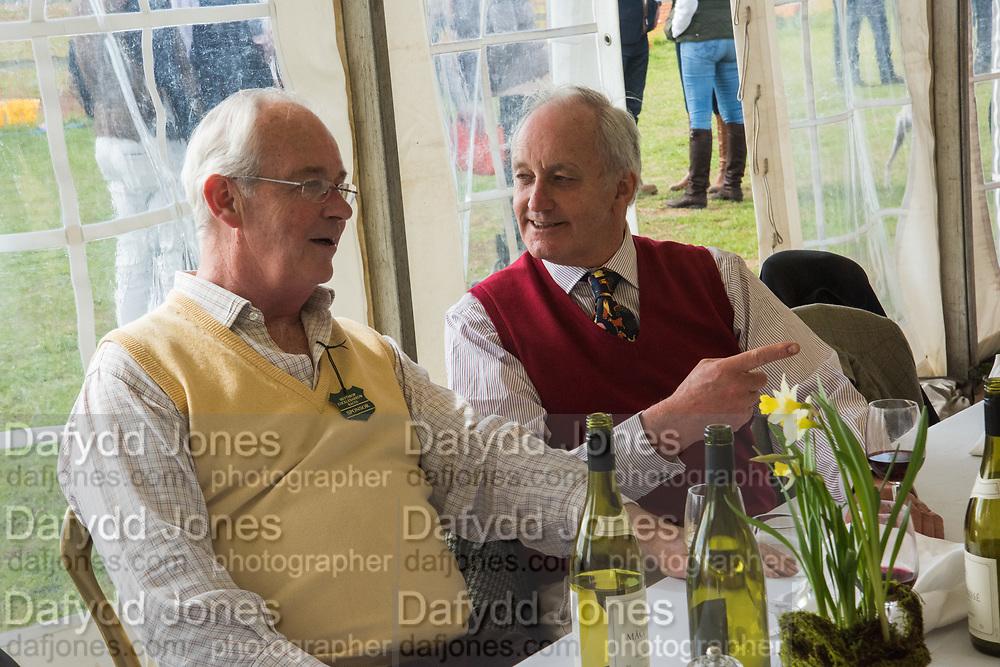 NEIL HAMILTON; FRANCIS MACLEOD, Heythrop Point to Point, Cocklebarrow, 2 April 2017.