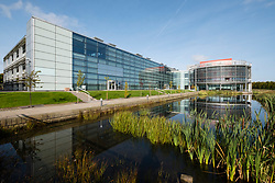 BT office building at Edinburgh Park a modern business park at South Gyle in Edinburgh, Scotland, United Kingdom.