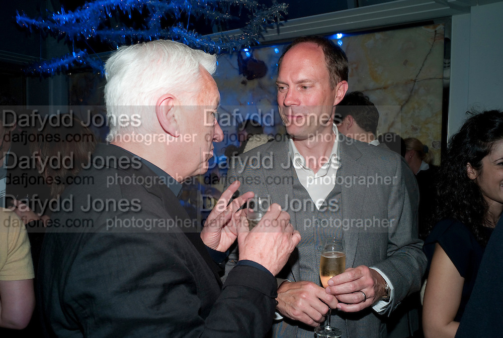 MICHAEL CRAIG-MARTIN; HARRY BLAIN, The after-party after the premiere of Duncan WardÕs  film ÔBoogie WoogieÕ ( based on the book by Danny Moynihan). Westbury Hotel. Conduit St. London.  13 April 2010 *** Local Caption *** -DO NOT ARCHIVE-© Copyright Photograph by Dafydd Jones. 248 Clapham Rd. London SW9 0PZ. Tel 0207 820 0771. www.dafjones.com.<br /> MICHAEL CRAIG-MARTIN; HARRY BLAIN, The after-party after the premiere of Duncan Ward's  film 'Boogie Woogie' ( based on the book by Danny Moynihan). Westbury Hotel. Conduit St. London.  13 April 2010