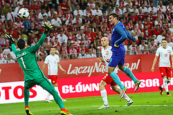 01-06-2016 POL: Polen - Nederland, Gdansk<br /> Oefenwedstrijd dat met 2-1 wordt gewonnen / Vincent Janssen (Holandia) scoort de 1-0<br /> <br /> ***NETHERLANDS ONLY***