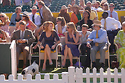 The Duchess of York. Veuve Clicquot Gold Cup Final at Cowdray Park. Midhurst. 17 July 2005. ONE TIME USE ONLY - DO NOT ARCHIVE  © Copyright Photograph by Dafydd Jones 66 Stockwell Park Rd. London SW9 0DA Tel 020 7733 0108 www.dafjones.com