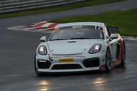 #17 Rick Nevinson /  Brad Nevinson  Porsche Cayman GT4 CS  during Britcar Dunlop Endurance Championship  as part of the BARC NW Championship Raceday at Oulton Park, Little Budworth, Cheshire, United Kingdom. October 21 2017. World Copyright Peter Taylor/PSP.