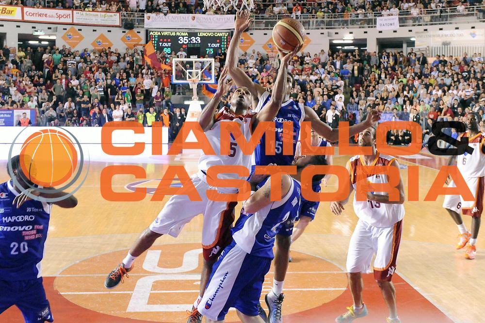 DESCRIZIONE : Roma Lega A 2012-2013 Acea Roma Lenovo Cantu playoff semifinale gara 5<br /> GIOCATORE : Phil Goss <br /> CATEGORIA : Tiro<br /> SQUADRA : Acea Roma <br /> EVENTO : Campionato Lega A 2012-2013 playoff semifinale gara 5<br /> GARA : Acea Roma Lenovo Cantu<br /> DATA : 02/06/2013<br /> SPORT : Pallacanestro <br /> AUTORE : Agenzia Ciamillo-Castoria/GiulioCiamillo<br /> Galleria : Lega Basket A 2012-2013  <br /> Fotonotizia : Roma Lega A 2012-2013 Acea Roma Lenovo Cantu playoff semifinale gara 5<br /> Predefinita :