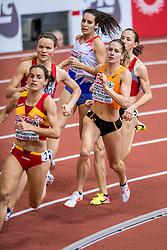 03-03-2017  SRB: European Athletics Championships indoor day 1, Belgrade<br /> In een lege Kombank Arena wordt de eerste dag van het Europees Kampioenschap gehouden / Sanne Verstegen