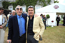 Left to right, MARK SHAND and MARK STEWART at the Cartier Style et Luxe, the Goodwood Festival of Speed, West Sussex on 13th July 2008.<br /> <br /> NON EXCLUSIVE - WORLD RIGHTS