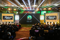 March 21, 2018 - Cairo, Egypt - The draw of the group stage of Total CAF Champions League and 2nd 1/16th round of the Total CAF Confederation Cup conduct on Wednesday, 21 March 2018 in Cairo, Egypt. (Credit Image: © Islam Safwat/NurPhoto via ZUMA Press)