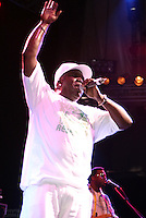 Barrington Levy performing at Prospect Park in Brooklyn in The Celebrate Brooklyn concert series on July 7.2006.