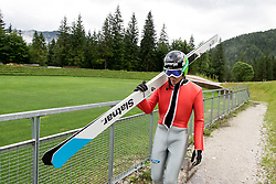 Anze Lanisek during ski jumping training in Nordic Center Planica, on June 29, 2017 in Planica, Slovenia. Photo by Matic Klansek Velej / Sportida